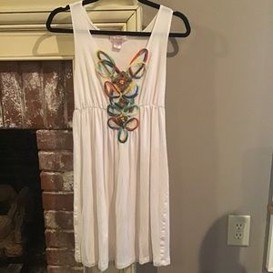 COOL SUMMER DRESS by WET SEAL Sz Small Colorful ❤️
